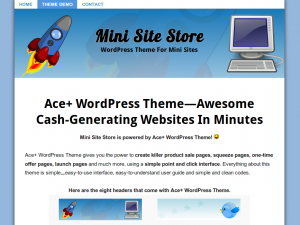 AcePlus WordPress Theme - Internet Marketing WordPress Theme