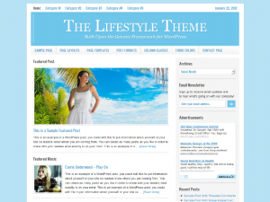 Lifestyle WordPress Theme Free Download - Genesis Child Theme