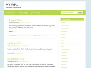Kitchen WordPress theme
