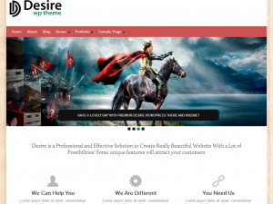Desire Free WordPress Theme