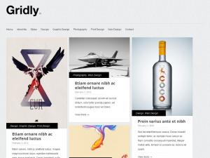 Gridly free responsive WordPress theme