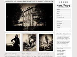Photo WordPress Responsive Theme