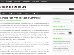 Fairway WordPress theme - Free Genesis child theme