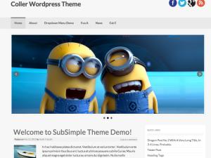 coller-wordpress-theme